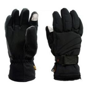Dual Fuel Deluxe Battery Heated Gloves With Free Heat Packs - Medium - by Warmawear