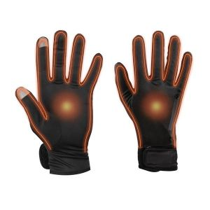 Dual Fuel Battery Heated Glove Liners With Free Heat Packs - Medium - by Warmawear Also Perfect for Running and Cycling