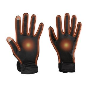 Dual Fuel Battery Heated Glove Liners With Free Heat Packs - Small - by Warmawear Also Perfect for Running and Cycling