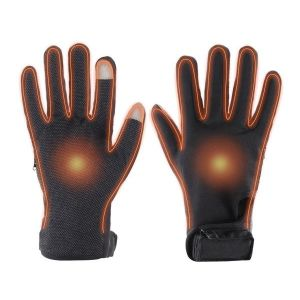 Dual Fuel Battery Heated Performance Gloves With Free Heat Packs - Large - by Warmawear