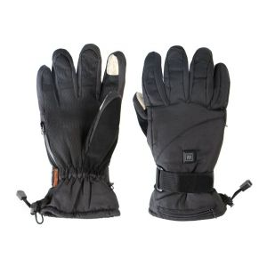 Dual Fuel Burst Power Deluxe Battery Heated Gloves With Free Heat Packs - Large - 3 Heat Settings - by Warmawear