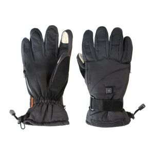 Dual Fuel Burst Power Deluxe Battery Heated Gloves With Free Heat Packs - Small - 3 Heat Settings - by Warmawear