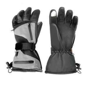 Dual Fuel Burst Power Battery Heated Sports Gloves With Free Heat Packs - Large - 3 Heat Settings - by Warmawear