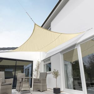 Breathable Square Shade Sail (Knitted 320gsm)