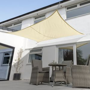 Breathable Rectangle Shade Sail (Knitted 320gsm)