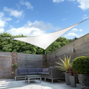 Breathable Party Triangle Shade Sail (Knitted 185gsm)