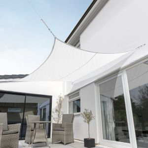 Breathable Party Square Shade Sail (Knitted 185gsm)