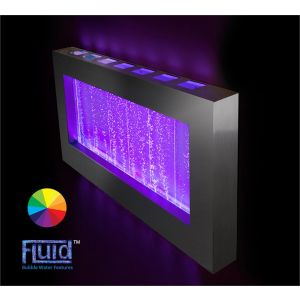 3ft 4ins Landscape Bubble Wall Color Changing Hanging Water Fountain